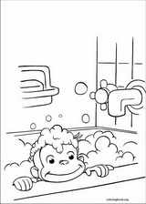 Curious George coloring page (024)