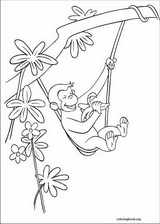 Curious George coloring page (029)