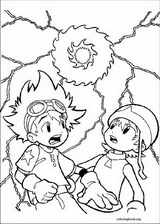 Digimon coloring page (001)
