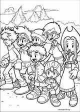 Digimon coloring page (003)