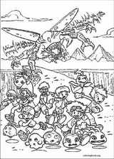 Digimon coloring page (004)