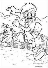 Digimon coloring page (008)
