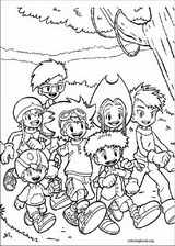 Digimon coloring page (012)