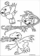 Digimon coloring page (013)