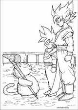 Dragon Ball Z coloring page (001)