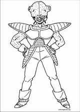 Dragon Ball Z coloring page (002)