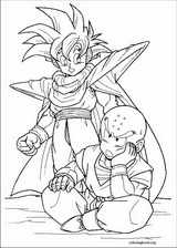 Dragon Ball Z coloring page (006)