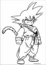Dragon Ball Z coloring page (007)