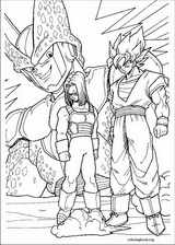 Dragon Ball Z coloring page (012)