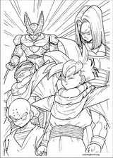 Dragon Ball Z coloring page (013)