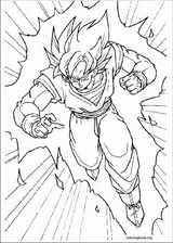 Dragon Ball Z coloring page (015)