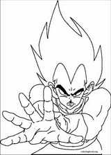 Dragon Ball Z coloring page (018)