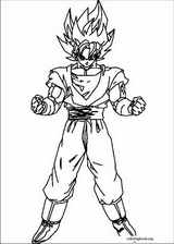 Dragon Ball Z coloring page (022)
