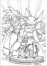 Dragon Ball Z coloring page (023)