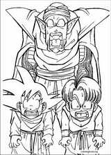 Dragon Ball Z coloring page (026)