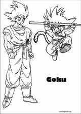 Dragon Ball Z coloring page (027)