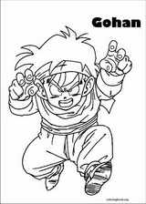 Dragon Ball Z coloring page (028)