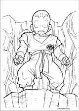 Dragon Ball Z coloring page (038)