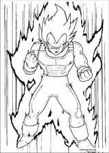 Dragon Ball Z coloring page (041)