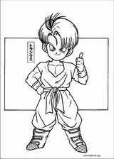 Dragon Ball Z coloring page (042)