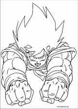 Dragon Ball Z coloring page (044)