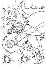 Dragon Ball Z coloring page (045)