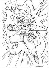 Dragon Ball Z coloring page (046)