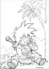 Dragon Ball Z coloring page (052)