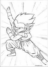 Dragon Ball Z coloring page (054)