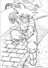 Dragon Ball Z coloring page (055)