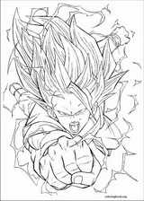 Dragon Ball Z coloring page (056)
