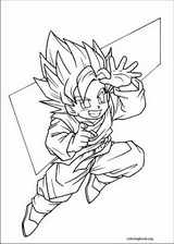 Dragon Ball Z coloring page (057)