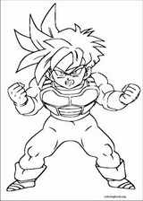 Dragon Ball Z coloring page (058)