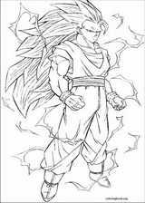 Dragon Ball Z coloring page (059)