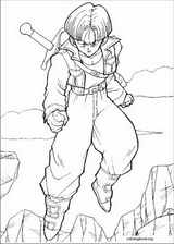 Dragon Ball Z coloring page (060)