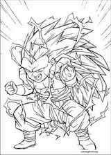 Dragon Ball Z coloring page (062)