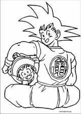 Dragon Ball Z coloring page (065)