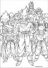 Dragon Ball Z coloring page (066)