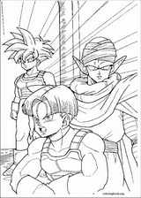 Dragon Ball Z coloring page (070)