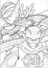 Dragon Ball Z coloring page (072)