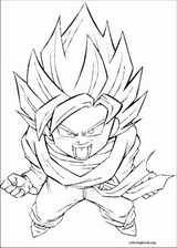 Dragon Ball Z coloring page (074)