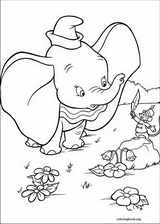 Dumbo coloring page (002)