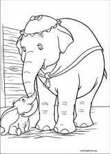 Dumbo coloring page (003)