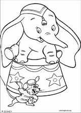 Dumbo coloring page (004)