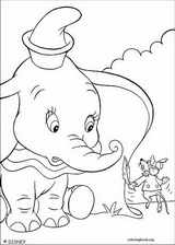 Dumbo coloring page (005)
