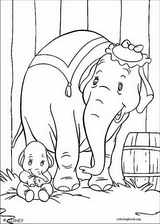 Dumbo coloring page (011)