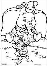 Dumbo coloring page (018)