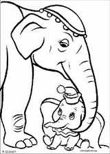 Dumbo coloring page (019)