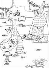 Franny's Feet coloring page (001)