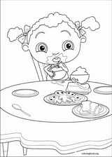 Franny's Feet coloring page (003)